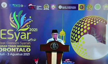 """""""Festival Ekonomi Syariah"""", Idris Rahim : Pemprov Gorontalo Terus Mendorong Penerapannya"""