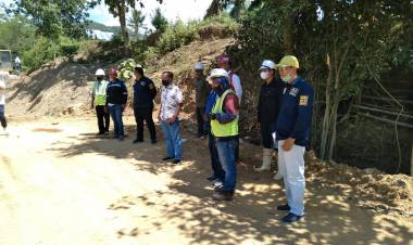 Komisi 3 MonitoringPembangunan Pengendali Sedimen di Desa Bulontala