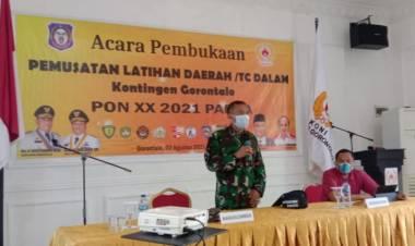 Jelang PON Papua, Kasrem 133/NW: TC Dalam Agar Atlet Fokus