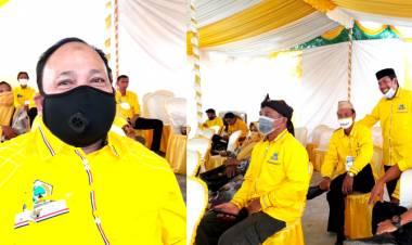 Hendra - Warsito Calon Kuat Ketua DPD II Golkar Kabgor