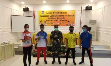 Danrem 133/NW Motivasi Atlet Gorontalo Raih Medali di PON XX Papua
