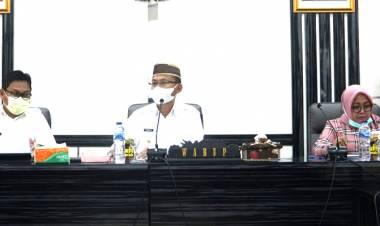 Pimpin Rakor SPIPED, Wabup Thariq : Gorut Harus Jadi Daerah Inovatif