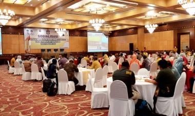 Pedoman Penyusunan APBD Tahun 2021, Banggar Deprov Ikuti Sosialisasi Permendagri No 27 Tahun 2021
