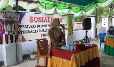Sosialisasi Perda Prokes di Totopo, Veny Terima Keluhan Terkait Vaksinasi