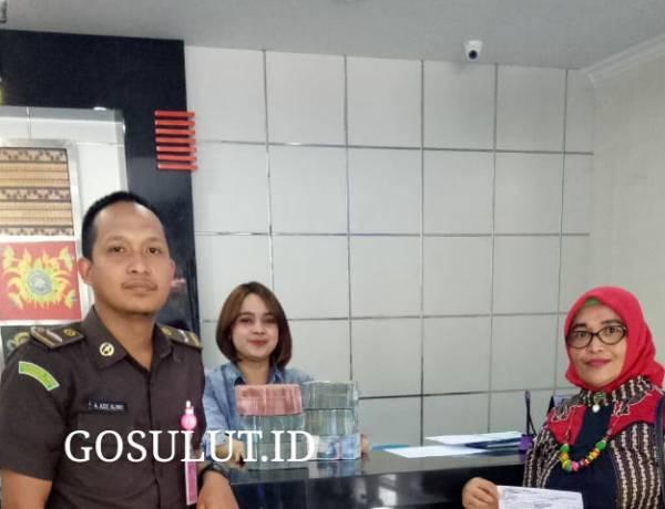JPU Kejaksan Negeri Kabupaten Gorontalo Kembali Selamatkan Uang Negara