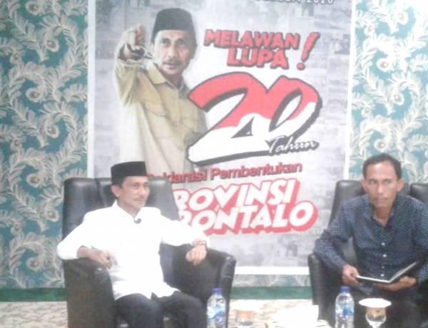 Melawan Lupa 20 Tahun Deklarasi Pembentukan Provinsi Gorontalo