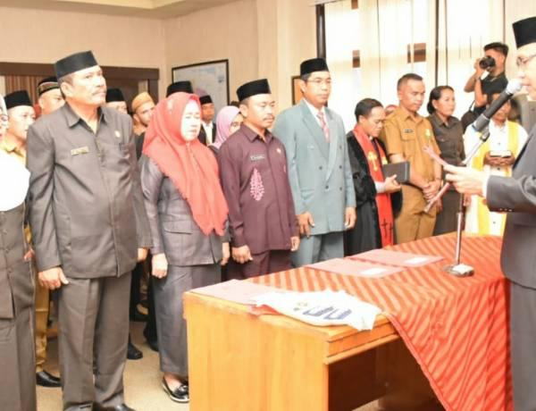 Wabup Anas Yusuf Lantik 63  Pejabat Di Awal Tahun 2020