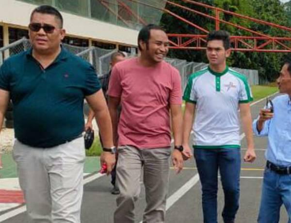 Kunjungi Sirkuit Sentul, Bupati Kabupaten Gorontalo Undang Pengurus IMI Pusat