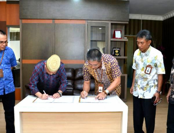 PGS Witel General Manager PT Telkom  Temui Wakil Gubernur Gorontalo