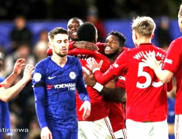 Man United Menjinakkan Tuan Rumah Chelsea di Stamford Bridge