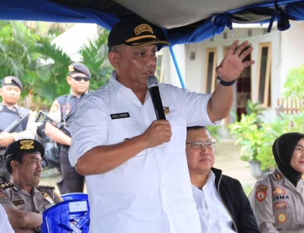 Kemensos RI Bantu Korban Banjir, Gubernur Gorontalo : Hentikan Pembabatan Hutan Untuk Ditanami Jagung