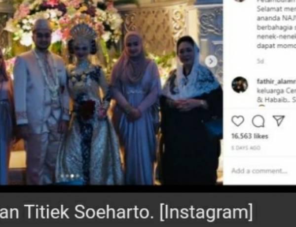 Postingan Titiek Soeharto Hadiri Pernikahan Putri HRS