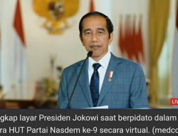 Jokowi : Mari Hormati Proses Hukum Sedang Berjalan di KPK Pada Politisi Partai Garindra