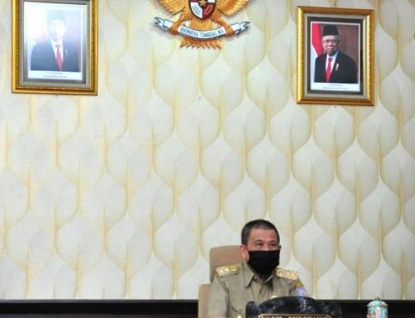 Idris Rahim Ikuti Penyerahan DIPA dan TKD Secara Virtual Oleh Presiden Jokowi