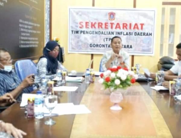 Wabup Gorut Tekankan Dua Hal Penting Dalam Rapat TPID