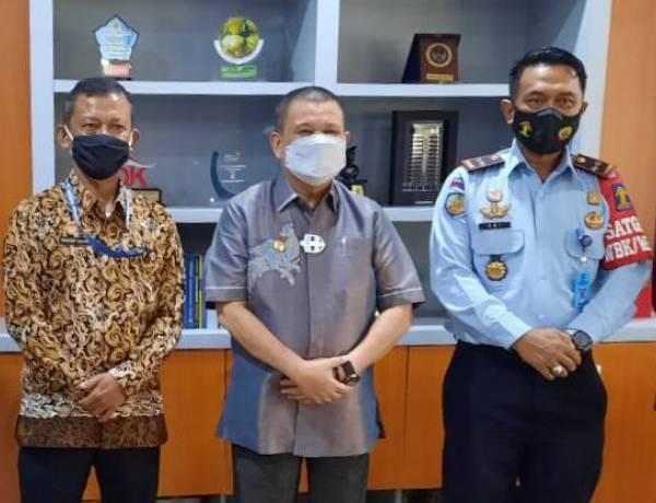 Kepala Bapas Kelas II Temui Wagub Gorontalo