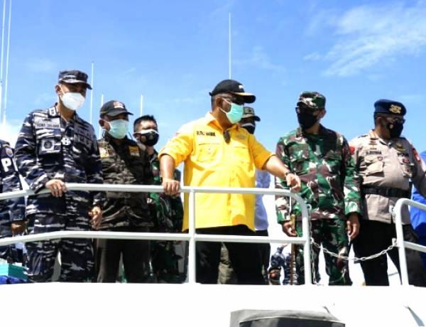 Gubernur Gorontalo : Puas Dengan Vaksinasi Diatas KAL Limboto