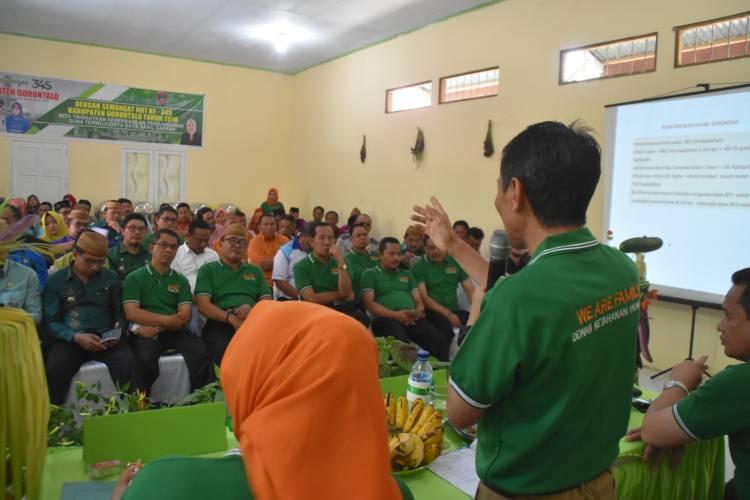 Prof Nelson Pomalingo Produksi Pangan Harus Di Penuhi