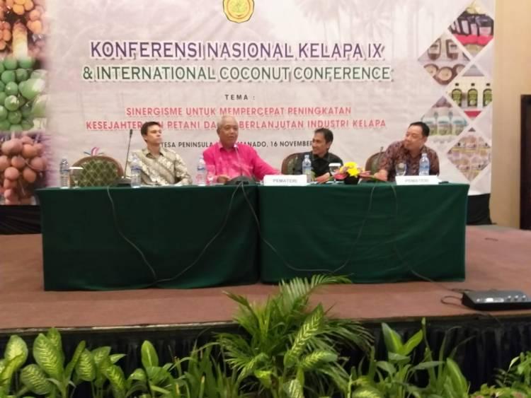 KOPEK Gelar Konferensi Nasional Kelapa IX Di Manado