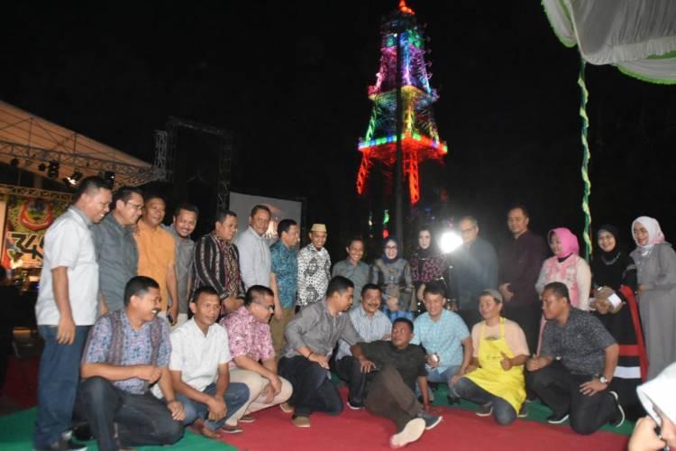 Hanna Hasanah Fadel Muhammad Rayakan Malam Puncak Hut 345