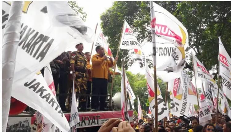Partai Hanura Demo DI KPU RI