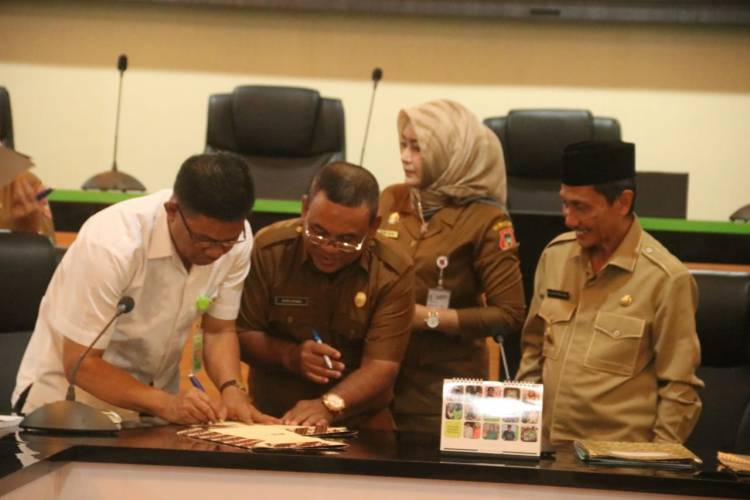 Awal 2019 Lingkungan Hidup Kabupaten Gorontalo Lakukan MOU