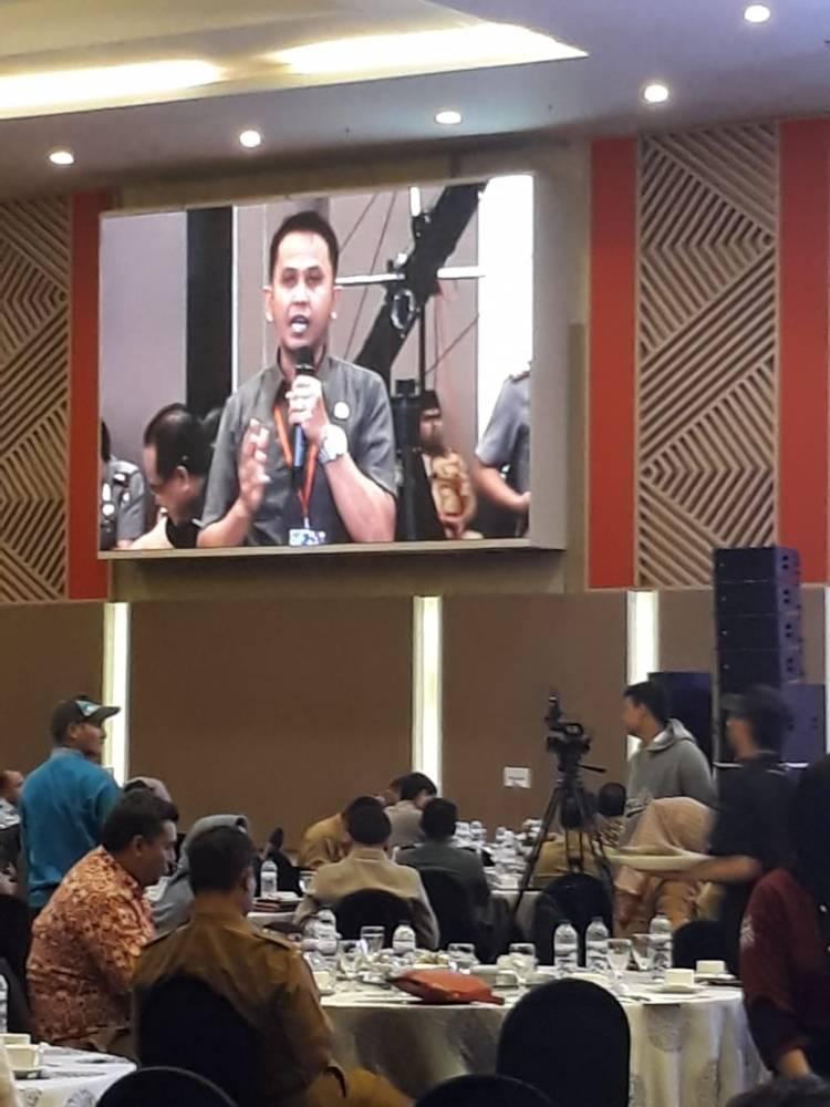 Kajari Kabupaten Gorontalo Dr.Supriyanto : Menyampaikan Problematika Disharmonisasi Pasal 23 dan 24 Perbawaslu tentang Sentra Gakkumdu