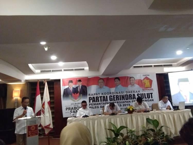 Partai Gerindra Sulut Gelar Rakorda