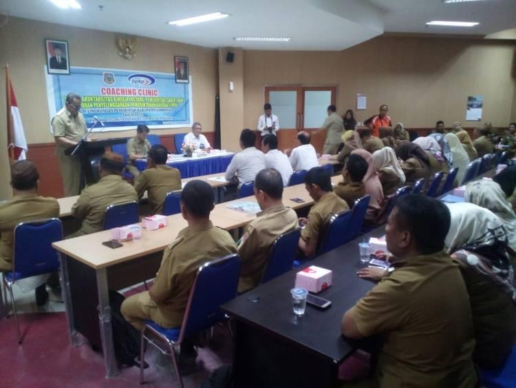 Pemerintah Kabupaten Gorontalo Optimis Raih Predikat BB Pada Penilaian SAKIP Akan Datang,