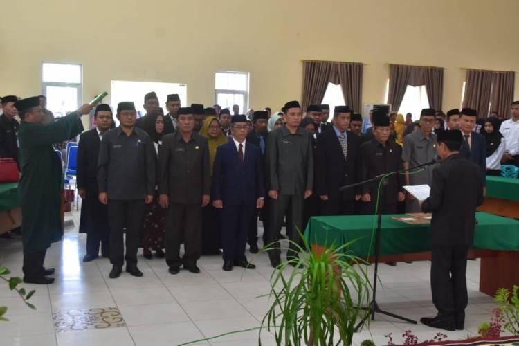 Jum'at Kramat Dua Pejabat Eselon II Masuk Staf Ahli