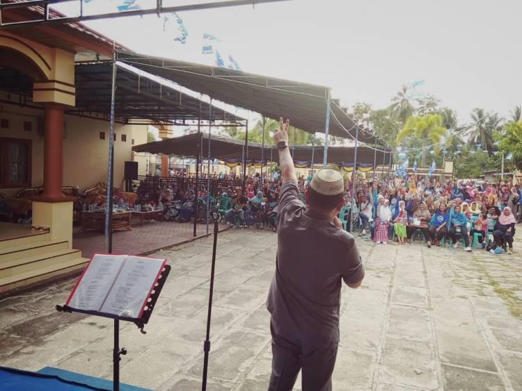 Dukungan Terhadap Arifin Jakani Terus Mengalir Dari Berbagai Kecamatan