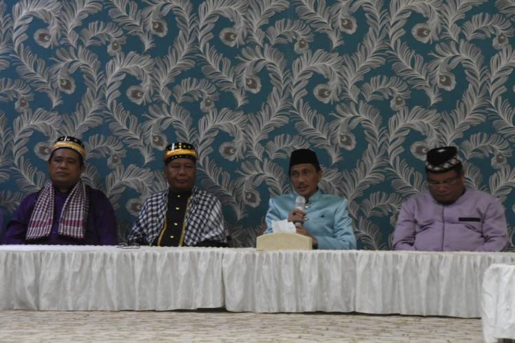 Wujudkan Pemilu SuksesPemkab Gorontalo Gelar Do' a Lo Ulipu