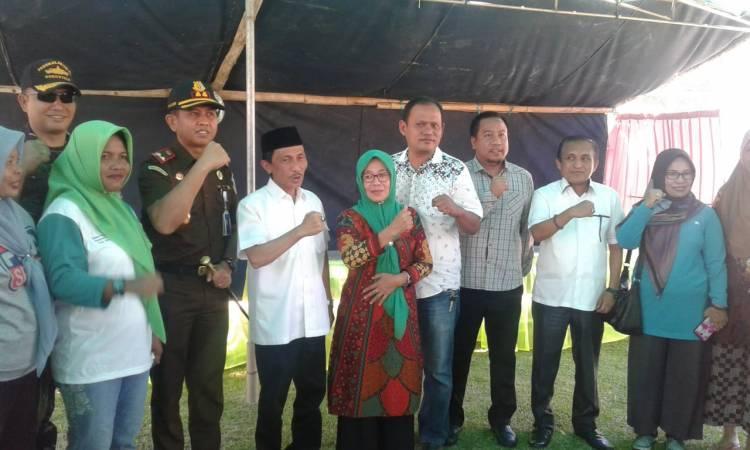 Bupati Prof Nelson Pomalingo Bersama Forkopimda Kunjungi  TPS  Di Kabupaten Gorontalo