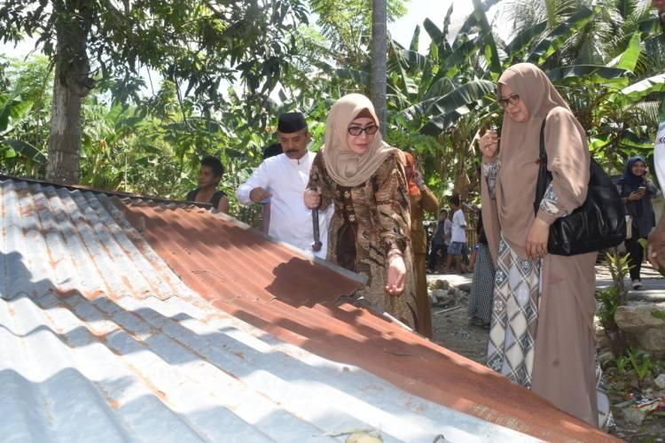 Rumah Tak Layak Huni Milik Opa Ali Di Bedah PKK Kabupaten Gorontalo