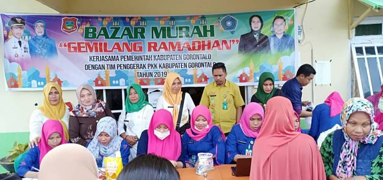 Pemkab Gorontalo Gelar Bazar Murah Di Bulan Suci Ramadhan