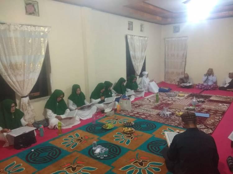 Suasana Tadarus Di Rumah Dinas Wakil Bupati Bolmong Utara Amin Lasena Di Bulan Ramadhan