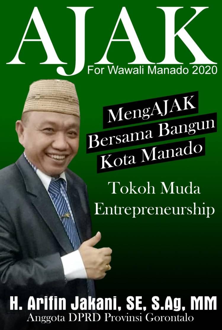 Anggota DPRD Provinsi Gorontalo Tiga Periode,  Peraih Suara Terbanyak  di 17 April2019, Diminta Maju Menjadi  Wakil Walikota Manado  2020