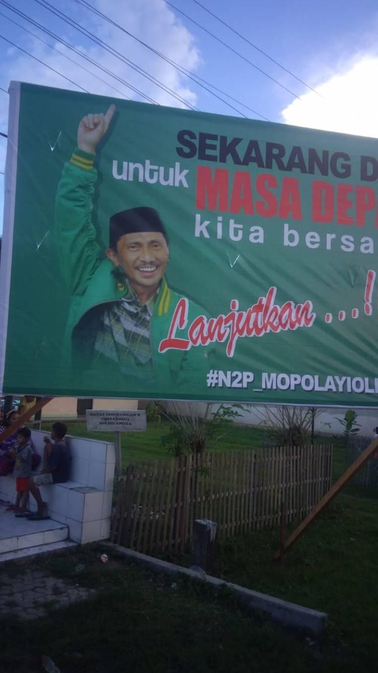 N2P Lanjutkan,  Bupati Nelson Pomalingo : Terimah Kasih Sambutan Kalian Rakyatku