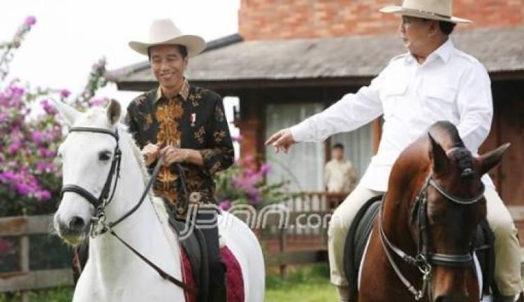 Benarkah Jokowi-Prabowo Bertemu Sebelum Putusan Sidang MK?