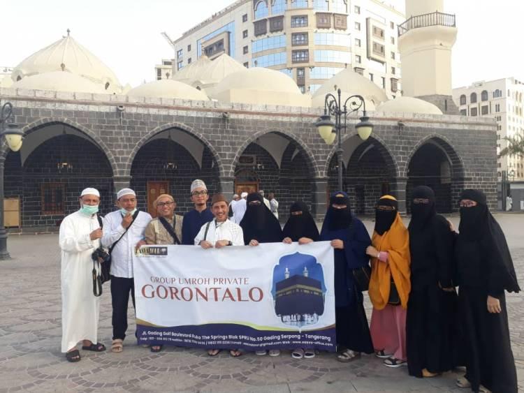Bupati Nelson Pomaligo Doakan ASN Dan Masyarakat Dari Tanah Suci Mekah