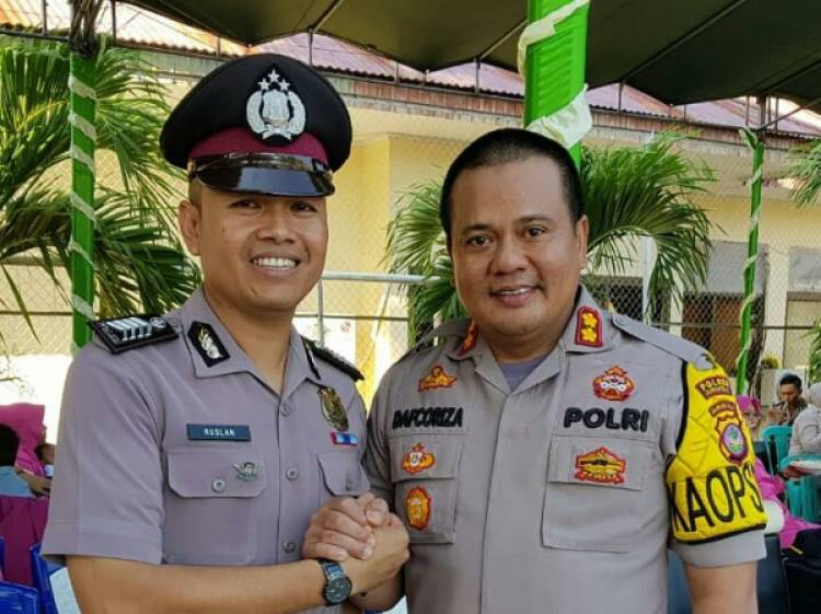 Kapolres Gorontalo, AKBP Davcoriza, S.IK.M.Sc : Kenaikan Pangkat Jadikan Sebagai Semangat Dalam Tugas