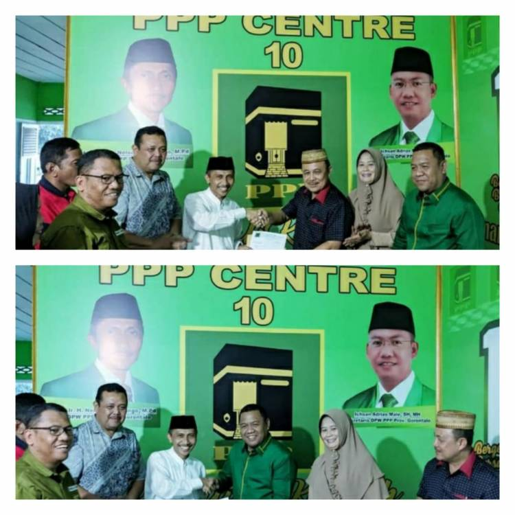 DPW  PPP Serahkan SK Pimpinan DPRD , Prof. Nelson Pomalingo : Jaga Rasa Kebersamaan