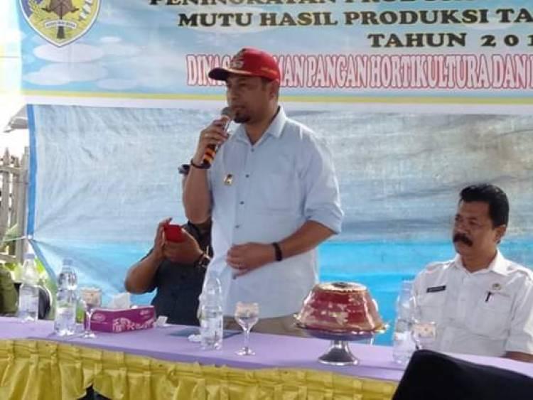 Moh Yasin, S.Sos : Melalui UPSUS Mari Tingkatkan Produksi Pertanian