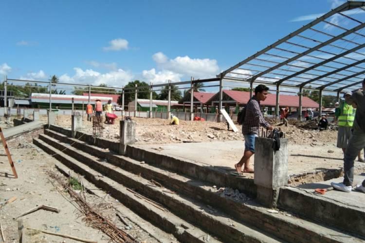 Pasar Limboto Dalam Wajah Baru Pembangunannya, Abang Bentor Turut Menikmati Hasilnya
