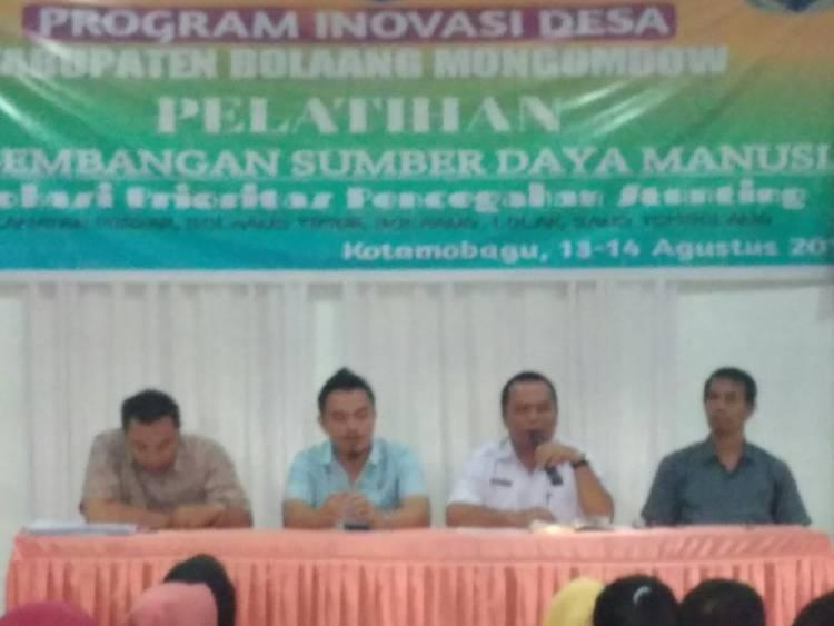 TPID Bolmong Sukses Laksanakan Pelatihan Di Tiga Cluster
