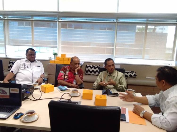 Doni Lahati : Pembangunan Rumah Komunitas Cita Cita Bupati Prof Nelson Pomalingo Akan Segera Terwujud