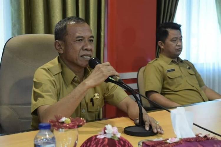 Wali kota Palu Menggelar Press Conference Mengenai Pembayaran Utang Jembatan IV