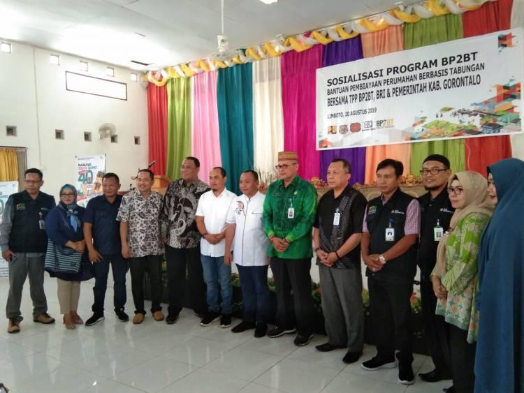 Hen Restu : Program BP2BT Sangat Positif Dan Berarti Bagi Rakyat Kabupaten Gorontalo