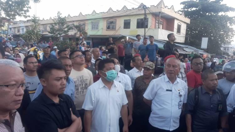 """Pasar Serasi Kotamobagu """"Dilalap"""" Api"""