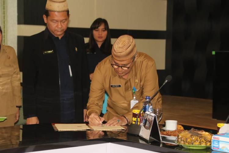Asisten III Hen Restu Buka Advokasi Program GKPD